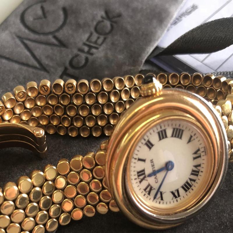 Ολοκληρωμένο Service σε ρολόι Cartier χρυσό 18Κ 8b7993541a0