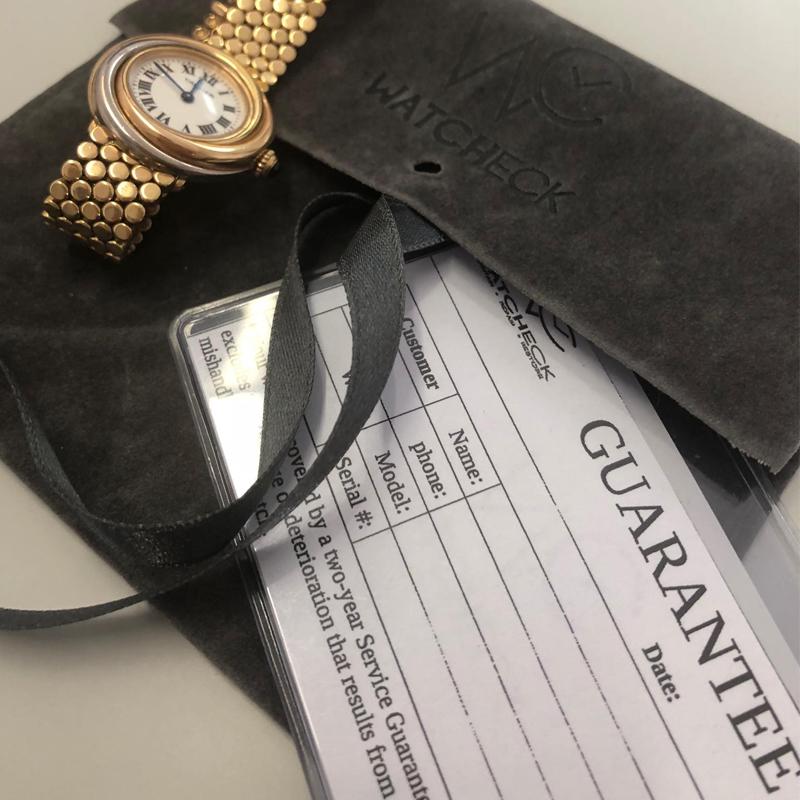 Cartier Service - Watcheck